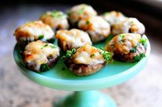 I love stuffed mushrooms!