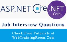 ASP.NET MVC Interview Questions Answers Question And Answer, This Or That Questions, Net Framework, Interview Questions And Answers, The Pipeline, Application Development, Core