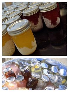 Freeze your favorite margaritas overnight in mason jars and they're ready to go.