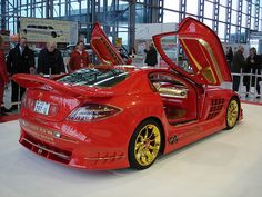 Anliker McLaren SLR '999 Red Gold Dream' | over 5 Mio. CHF (… | Flickr