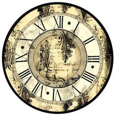 Коллекция картинок: Часы и циферблаты (шаблоны)