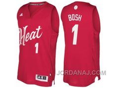 http://www.jordanaj.com/mens-miami-heat-1-chris-bosh-2016-christmas-day-red-nba-swingman-jersey.html MEN'S MIAMI HEAT #1 CHRIS BOSH 2016 CHRISTMAS DAY RED NBA SWINGMAN JERSEY Only $19.00 , Free Shipping!