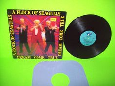 A Flock Of Seagulls – Dream Come True Vinyl LP Record New Wave SynthPop NM   #1980sElectroSynthNewWave