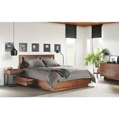 Hudson Storage Bed Bedroom - Modern Bedroom Furniture - Room & Board