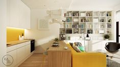 Poland Studio Apartment by Kaeel.Group Architekci - DECOmyplace