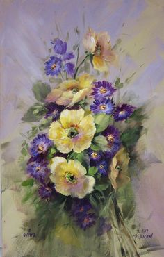DVD 1119 Painting Spring Flowers Vol. 1- Paint It Simply - Jansen Art Store