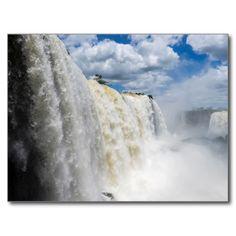 Postcard Iguaçu National Park Closeup, Brazil Carte Postale