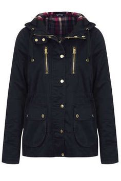 Hooded Lightweight Jacket - Parkas & Trenches - Jackets & Coats  - Clothing