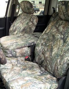 These are seat covers that are designed to fit over the existing upholstery of the 2009-2010 Dodge Ram 1500 and 2010 Ram 2500-3500.    Seat configuration:    Front 40/20/40 split seat with opening center console.  20 section seat bottom doesn't open for storage.      Fabric Specs:  600X600 denier polyester endura with urethane backing.    Color: True Timber MC2 Hunting Camo    Part # D1304