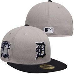 abbd578e569 Detroit Tigers New Era Patched Team Redux 59FIFTY Fitted Hat – Gray