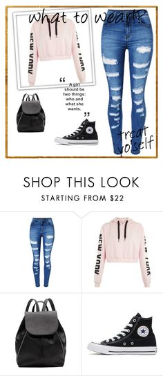 A fashion look from May 2017 featuring cropped shirts, patched jeans and high-top sneakers. Browse and shop related looks. Cute Outfits For School, Outfits For Teens, New Outfits, Summer Outfits, Girl Outfits, Fashion Outfits, Outfits With Converse, Sporty Outfits, Stylish Outfits