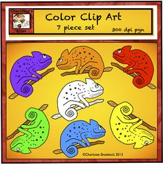 Charlotte's Clips and Kindergarten Kids: Free Lessons and Clip Art for Chameleons Mixed Up Chameleon, Chameleon Color, Cameleon Art, The Lion Sleeps Tonight, Eric Carle, School Themes, Classroom Displays, Free Coloring, Book Activities