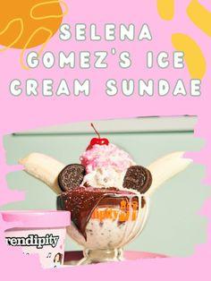 Selena Gomez's Epic Ice Cream Sundae Recipe Just Won Dessert for Good #SelenaGomez #icecream #dessert #icecreamsundae #sundae #chocolate #hotfudge
