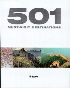 The book covers 501 must-visit destinations, ranging from remote hideaways and tropical islands to bustling cities, breathtaking monuments and stunning landscapes across the world. Stunning photography sits alongside informative text and a summary of don't-miss features of each site.