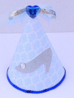 8 Cinderella Party Hats Cinderella Birthday by PSKreativeKreations, $20.00