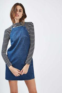 MOTO Square Neck Mini Dress