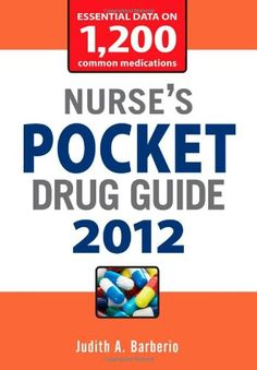 Nurse's Pocket Drug Guide 2012 « Library User Group