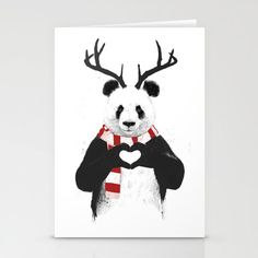 Tis the season of sending greetings in the mail. Get something more unique this year with cards designed by Society6 artists.