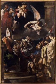 La vestizione di san Guglielmo, 1620, pinacoteca di Bologna