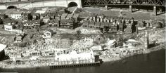 Luna Park at Milsons Point,in northern Sydney in Luna Park Sydney, Australian Road Trip, Homestead Survival, Country Homes, Historical Pictures, Sydney Harbour Bridge, Historical Society, North Shore, Aerial View
