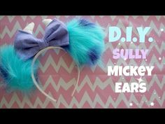 DIY MINNIE & MICKEY MOUSE EARS! HOW TO MAKE DISNEY EARS AT HOME || Cheap & Easy Disney Crafts! - YouTube