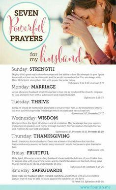 Prayers for husbands!