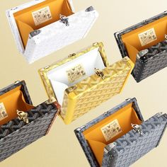 Goyard is the true under-the-radar-brand that can turn anyone from average-bag-lover into a fulltime-handbag-obsess. The label is addictive as the top labels like LV, Chanel and Dior. The Anjou Bag… Goyard Handbags, Goyard Bag, Tote Bag, French Nouns, Dior, Pharrell Williams, Big Bags, Luxury Handbags, Coco Chanel