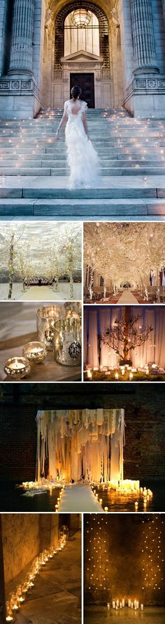 AMAZING lighting ideas for wedding!