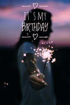 happy birthday wishes Free idea - Geburtstag Happy Birthday To Me Quotes, Birthday Girl Quotes, Birthday Wishes Quotes, Happy Birthday Images, Happy Birthday Wishes, 21 Birthday, Its My Birthday Month, Birthday Greetings, My Birthday Pictures