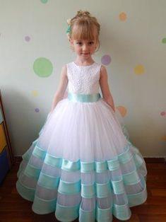 Baby Girl Party Dresses, Little Girl Dresses, Girls Dresses, Flower Girl Dresses, Work Dresses, Dresses Dresses, Casual Dresses, Wedding Dresses, Kids Frocks Design