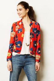 Jutka Bomber Jacket at Anthropologie