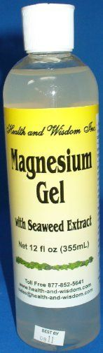 Health and Wisdom Magnesium Gel with Seaweed Extract 12 oz by Health and Wisdom, http://www.amazon.com/dp/B004I7IDI2/ref=cm_sw_r_pi_dp_SL-8rb1MPGQHJ