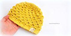 Návody háčkování Krampolinka · Návody a videa na háčkování Crochet Hats, Denim, Fashion, Knitting Hats, Moda, Fashion Styles, Fashion Illustrations, Jeans