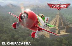 Conoce a los personajes de la película para niños 'Aviones'. El Chupacabra