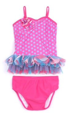 Baby & Toddler Clothing Reliable Pink Platinum Baby Girls Mermaid Foil Shimmer Swimsuit Bathing Suit 18m