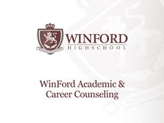 WinFord High School – provides best student services to help you with your academic and career life