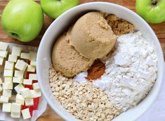 Once you try this recipe you will throw away every other Apple Crisp recipe! It is award winning and a reader favorite! Homemade Apple Crisp, Best Apple Crisp Recipe, Apple Crisp Easy, Apple Crumble Recipe, Apple Crisp Recipes, Apple Pie, Pear Recipes, Irish Recipes, Apple Slices