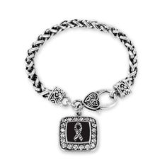 EDS Awareness Classic Braided Charm Bracelet