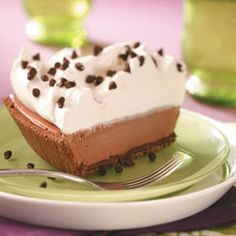 Frosty Coffee Pie Recipe -This pie was inspired by my husband, who loves coffee ice cream, and his mom, who makes a cool, creamy dessert using pudding mix. —April Timboe, Siloam Springs, Arkansas