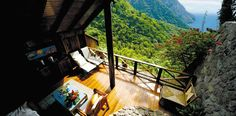 Ladera - St. Lucia West Indies www.ladera.com ~ Looks absolutely AMAZING!!