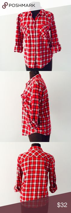 ❗️Forever 21 Red Flannel Button Down ❗️Forever 21 Red Flannel Button Down. In great condition! Size small. Make an offer! Selling to first offer--I consider all reasonable offers on individual items & give great bundle deals. New Year cleanout sale ;-) Forever 21 Tops Button Down Shirts