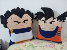 Handmade Dragon Ball Z Goku and Vegeta Party by RbitencourtUSA, $54.95