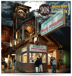 Ripley's Haunted Adventure in Gatlinburg - one of several scary attractions and Halloween events