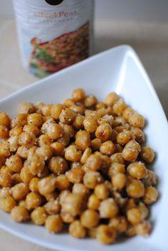 Parmesan Roasted Chickpeas - My new popcorn. The Food Bitch Blog - http://thefoodbitchblog.com/2012/08/23/parmesan-roasted-chickpeas/
