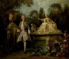 Portrait of the Actor Grandval (1710-1784), 1742 by Nicolas Lancret