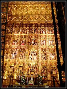 Room of Gold. Seville, Spain