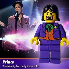 Prince Custom LEGO Minifig by Morgan190