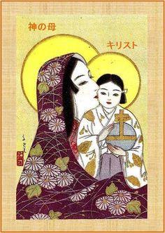 JAPANESE_ icon of the Theotokos