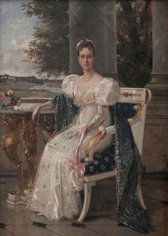 Grand Duchess Elizaveta Fyodorovna of Russia by Laszlo
