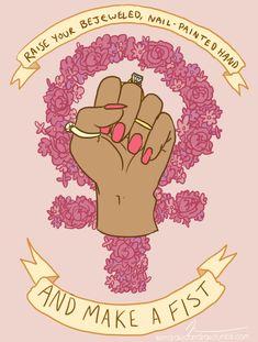 FEMME IS NOT FRAGILE  www.kendrawcandraw.tumblr.com/post/53321130886/femme-is-not-fragile
